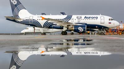 VQ-BBD - Airbus A319-111 - Aurora