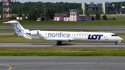ES-ACH - Bombardier CRJ-900ER - LOT Polish Airlines (Nordica)