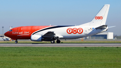 OO-TNL - Boeing 737-34S(BDSF) - TNT (ASL Airlines)