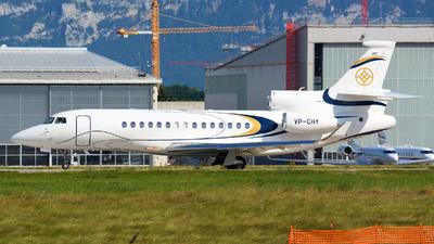 VP-CHY - Dassault Falcon 8X - Private