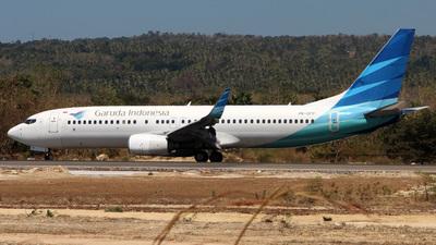 A picture of PKGFP - Boeing 7378U3 - Garuda Indonesia - © Joshafat_Hutapea