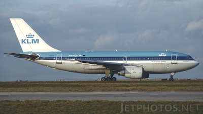 PH-AGB - Airbus A310-203 - KLM Royal Dutch Airlines