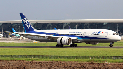 JA880A - Boeing 787-9 Dreamliner - All Nippon Airways (Air Japan)