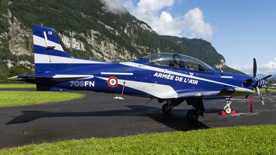 12 - Pilatus PC-21 - France - Air Force
