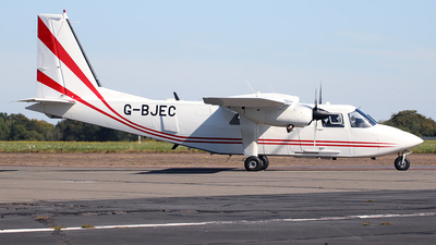 G-BJEC - Britten-Norman BN-2T Turbine Islander - Gama Aviation