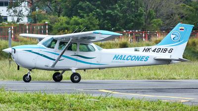 HK-4919-G - Cessna 172N Skyhawk - Escuela de Aviación Los Halcones