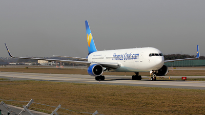 G-TCCB - Boeing 767-31K(ER) - Thomas Cook Airlines