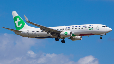 PH-HXG - Boeing 737-8K2 - Sun Country Airlines (Transavia Airlines)