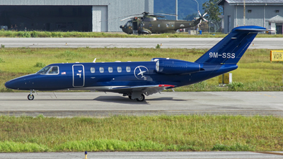 9M-SSS - Cessna 525 Citationjet CJ4 - Private
