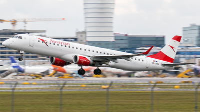 OE-LWA - Embraer 190-200LR - Austrian Airlines