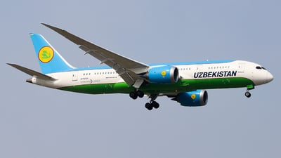 UK78703 - Boeing 787-8 Dreamliner - Uzbekistan Airways
