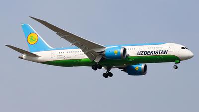 A picture of UK78703 - Boeing 7878 Dreamliner - Uzbekistan Airways - © Unbeliverpool