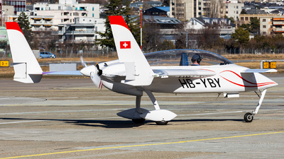 HB-YBY - Rutan LongEZ - Private