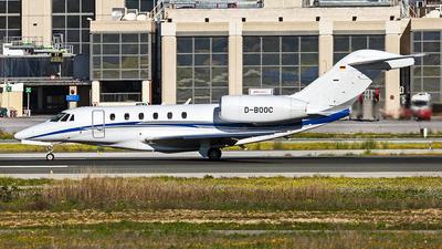 A picture of DBOOC - Cessna 750 Citation X -  - © Manuel Llama - Benalmadena Spotters