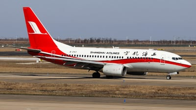A picture of B2913 - Boeing 73776D - Shanghai Airlines - © HXD1D1898 SjHd