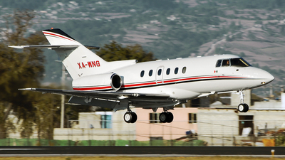A picture of XAWNG - Hawker 800XP - [258397] - © Alex Zothique