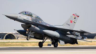 93-0692 - Lockheed Martin F-16D Fighting Falcon - Turkey - Air Force