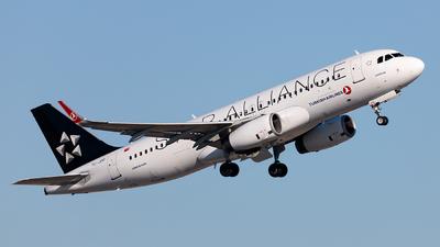 A picture of TCJPP - Airbus A320232 - Turkish Airlines - © Ömür Sadikoglu