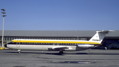 G-BCXR - British Aircraft Corporation BAC 1-11 Series 517FE - Monarch Airlines