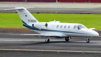 A picture of YV3390 - Cessna 525 CitationJet CJ1 - [5250387] - © Alexis Navarro