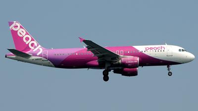 JA802P - Airbus A320-214 - Peach Aviation