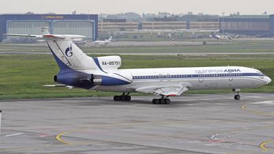 RA-85751 - Tupolev Tu-154M - Gazpromavia