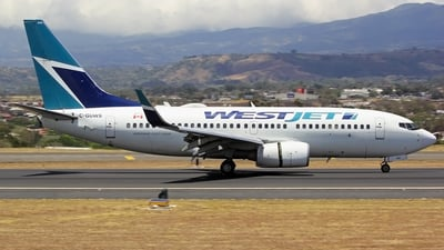 A picture of CGUWS - Boeing 73776N - WestJet - © Denis Gonzalez - Costa Rica Spotter