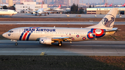 JY-JAY - Boeing 737-31S - Iran Air Tours