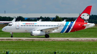 A picture of RA89082 - Sukhoi Superjet 10095LR - Yamal Airlines - © OSDU