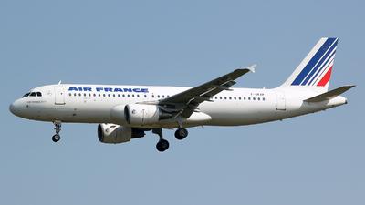 F-GKXP - Airbus A320-214 - Air France