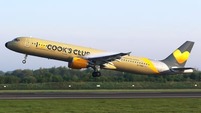 G-TCDV - Airbus A321-211 - Thomas Cook Airlines