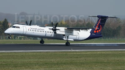 G-ECOK - Bombardier Dash 8-Q402 - Brussels Airlines (Flybe)