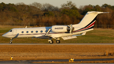 N465QS - Gulfstream G-IV(SP) - NetJets Aviation