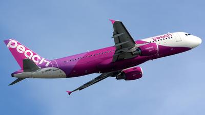 JA818P - Airbus A320-214 - Peach Aviation