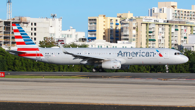 A picture of N156AN - Airbus A321231 - American Airlines - © Angel Natal