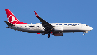 A picture of TCJVP - Boeing 7378F2 - Turkish Airlines - © Emre Tanrivermis