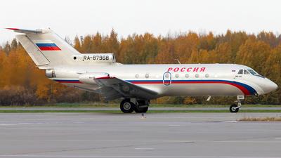 RA-87968 - Yakovlev Yak-40 - Rossiya - Special Flight Squadron