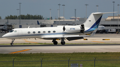 N77WL - Gulfstream G-IV - Private