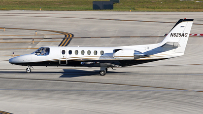 N625AC - Cessna 560 Citation V - Private