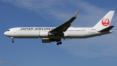 JA620J - Boeing 767-346(ER) - Japan Airlines (JAL)