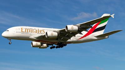A6-EUH - Airbus A380-861 - Emirates