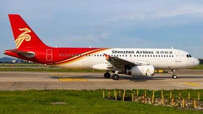 A picture of B6721 - Airbus A320232 - Shenzhen Airlines - © Zongzha_Kaiguan