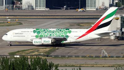 A6-EOJ - Airbus A380-861 - Emirates