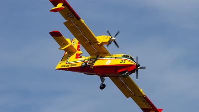 I-DPCF - Canadair CL-415 - Italy - Vigili del Fuoco