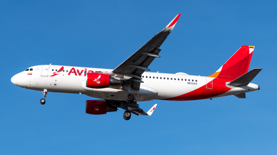 N632AV - Airbus A320-214 - Avianca