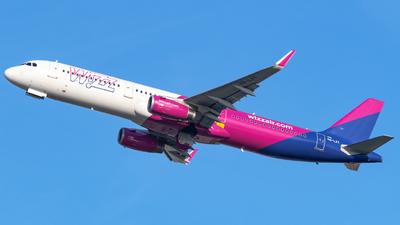 A picture of HALXY - Airbus A321231 - Wizz Air - © Marcello Montagna spotter_napoli