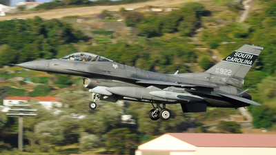 92-3922 - General Dynamics F-16C Fighting Falcon - United States - US Air Force (USAF)