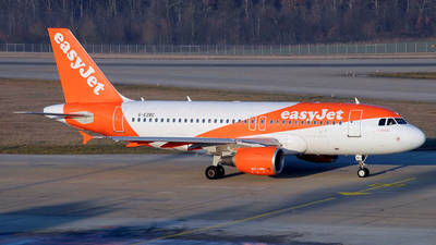 A picture of GEZBC - Airbus A319111 - easyJet - © Paul Denton