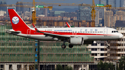 A picture of B8958 - Airbus A320271N - Sichuan Airlines - © zzy020213