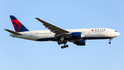 A picture of N867DA - Boeing 777232(ER) - Delta Air Lines - © Marvin Knitl